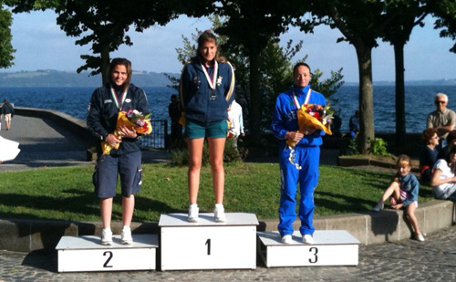 Podio Campionato Italiano Assoluto 2010 5km