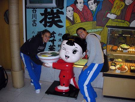 Alice e Martina a Shantou